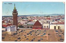 CPA TUNISIE TUNIS - LEHNERT & LANDROCK - N° 573 - Minaret 1912
