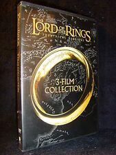 The Lord of the Rings: 3-Film Collection (DVD, 2014, 3-Disc, Theatrical Version)