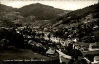 Ottenhöfen Schwarzwald Postkarte 1960 gelaufen Gesamtansicht Felder Wald Hügel