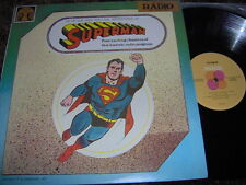 "SUPERMAN    Original Radio Broadcast - Four Chapters  Rare Astor 12"" Vinyl"