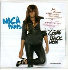 (297J) Mica Paris, Baby Come Back Now - DJ CD