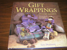 GIFT WRAPPING ( Every Occasion ) G. Dickinson Hard Cover & Original Dust Jacket