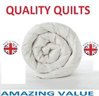 DUVET QUILTS Super Warm Top Quality bedroom Bed Quilts-SINGLE,DOUBLE, KING SIZE