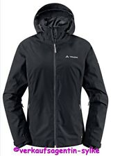 Vaude - Women's Kofel Jacket, Damen Fahrradjacke Gr.38 schwarz mit Kapuze, NEU