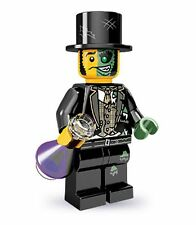 Lego collectable series 9 minifig Mr Good and Evil (Dr Jekyll and Mr Hyde)