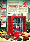 1968+Christmas+Catalog+page+only+Motorized+Car+Park+Volkswagen+Samba+Matchbox