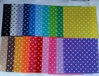 Printed Patterned felt Hearts Choice 20 colours