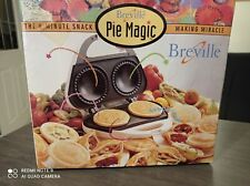 Breville Magic Pie Maker The 8 Minute Snack Making Miracle ~ New in Boxed