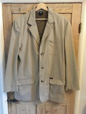 """Khaki Jacket Blazer by Cotton Traders , 44"""" Chest ... NEW WITHOUT TAGS"""