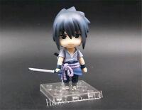 Anime Naruto Sasuke Uchiha ShippudenNendoroid PVC Figure Model 4''