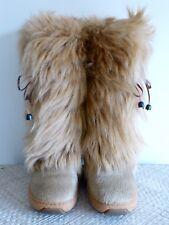 Oscar Sport-Snow Boots après ski/after ski botas, cabra, beige talla 40/41