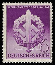 EBS Germany 1942 War Effort Day of the Storm Troopers MiNr 818 MNH**
