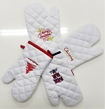 Pair of Oven Cotton Gloves Kitch...