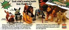 1994 Burger King Disney's Lion King MIP Complete Set - Lot of 7, Girls & Boys