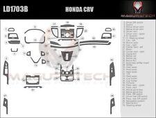 Fits Honda CRV 2012-2014 W/Auto Trans Medium Wood Dash Trim Kit