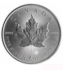 Canada $ 5 SILBER 1 oz Maple Leaf 2017 incl. Kapsel!