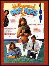 HOLLYWOOD HOT TUBS 2__Original 1990 Trade AD promo__JEWEL SHEPARD__DORI COURTNEY