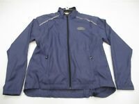 SUGOI Jacket Women's Size L Active Running Cycling Lightweight Full Zip Blue