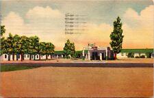 Postcard NM Clayton Sunset Camp - Roadside Americana - LINEN 1951 L14