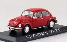 VW Käfer rot Blister 1:43 Ixo/Altaya Modellauto