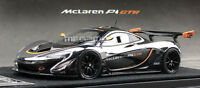 1/43 Almost Real McLaren P1 GTR Chrome and Black Free Shipping