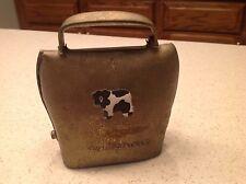 Vintage Metal Cow Animal Bell Working Condition Grindelwald Brass/ Bronze