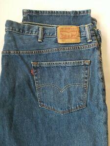 MINT Levis Levi's 550 Relaxed Fit Cotton Denim Blue Jeans Sz 56 x 30 EXCELLENT