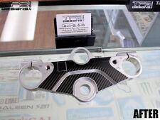 Carbon Fiber Triple Clamp Decal 1998-2003 Suzuki GSX 600F Katana - 3M Vinyl