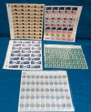 Lot of Full Sheets of US Commemorative Stamps, 50 ct. OG, VF/Exc.