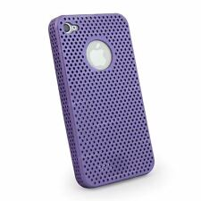 New Luxury Purple Slim Back Protective Fitted Case Cover for Apple iPhone 4 & 4S