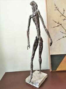 """""""Striving for perfection VANGUARD AUTOR'S LARGE STAINLESS STEEL METAL SCULPTURE"""