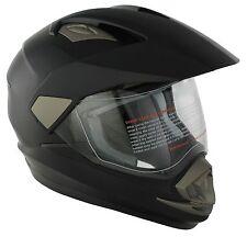 MOTORCYCLE MOTOCROSS HELMET DUAL SPORT ADVENTURE TOURING ENDURO CRASH HELMET