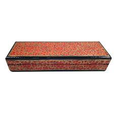 Handmade Papier Mache Treasure Box,Trinket Box, Mini Storage, Chest For Jewelry