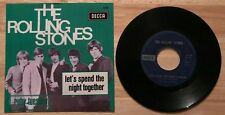 RARE BELGIUM SP THE ROLLING STONES RUBY TUESAY-LETS SPEND THE NIGHT TOGETHER
