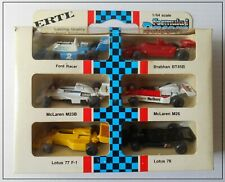 Ertl F1 Racers Formula Lotus McLaren Brabham Ford 6 Cars Rare Mint Boxed