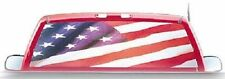 AMERICAN FLAG USA REAR WINDOW TINTZ TINT STICKER DECAL FORD CHEVY DODGE SUV
