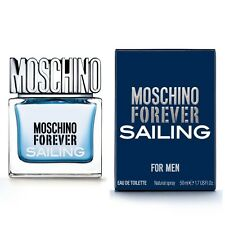 MOSCHINO FOREVER SALILING FOR MEN EDT NATURAL SPRAY - 50 ml