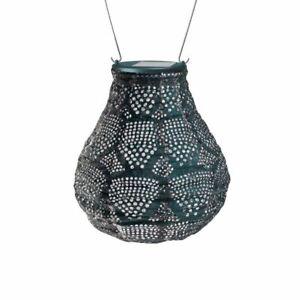 """Allsop Home & Garden, Stella Bulb Lantern, Weather Resistant Tyvek,Solar/ LED 8"""""""