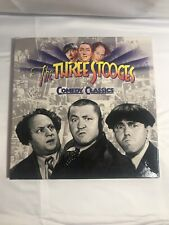 The Three Stooges Comedy Classics 3 disc Laserdisc Set Collection LD