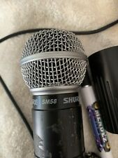 shure sm58 wireless microphone used