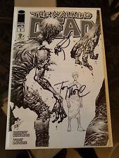 The Walking Dead #1 ECCC B/W Variant NM SIGNED by Erik Larsen, Tony Moore