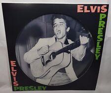 LP Elvis Presley `1st Album (180gr Picture Disc)` Neu/New Blue Suede Shoes