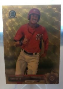 2017 Bowman Chrome Superfractor Juan Soto RC 1/1  ROOKIE BCP180
