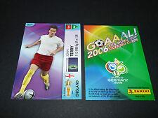 JOHN TERRY ENGLAND PANINI CARD FOOTBALL GERMANY 2006 WM FIFA WORLD CUP