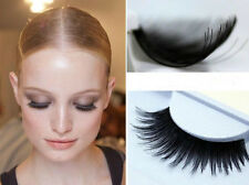 New 10 Pairs Black Thick False Eyelashes Fake Eye Lash Extension Makeup C-188 US