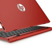 HP X2 10-n156sa 10-n102na Red Palmrest Touchpad Dock UK Keyboard Battery Base