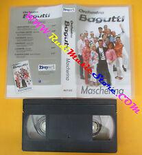 VHS ORCHESTRA BAGUTTI Mascherina BAGART liscio BGT 032 no cd mc dvd lp
