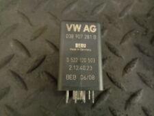 2009 VW PASSAT B6 1.9 TDI GLOW PLUG CONTROL RELAY 038907281B 0522120503 BERU