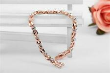 roxi Exquisite 18 k  Rose Gold Plated Crystal  Bracelets for Women