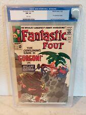 Fantastic Four #44 (Nov 1965, Marvel) cgc 9.4 white pages